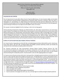 Gist Document Detail Global Advisory Committee Gac