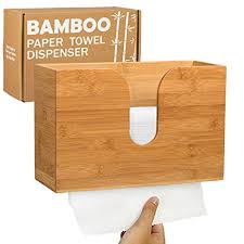 Commercial Bathroom Paper Towel Dispenser Inspiration Amazon Bamboo Paper Towel Dispenser Wall Mounted Countertop