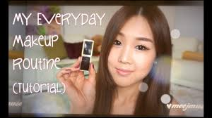 korean everyday makeup routine tutorial