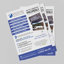 flyer design and printed by the logo guy quality flyer design window cleaning flyers design