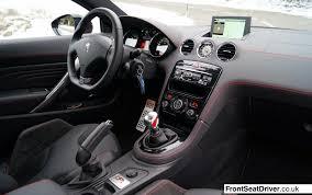 Peugeot RCZ R 2013 Interior Phil Huff FrontSeatDriver.co.uk ...