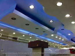 exotic pop ceiling design with lighting gharexpert