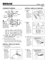 install grille bulbs connect wiring install grille bulb install grille bulbs connect wiring install grille bulb broan ventilation fan light and heater 100hfl user manual page 3 8