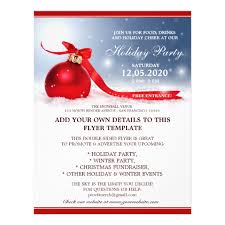 christmas open house flyer holiday party announcement christmas open house flyer zazzle com