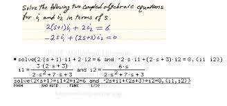 solving ordinary linear diffeial equations