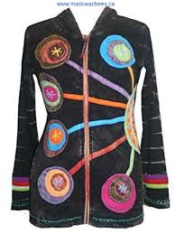 r 349 agan traders rib cotton circular patched embroidered prepare hoodey bohemian zyofh district fashion jacket
