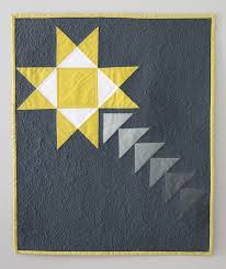shooting star mini quilt  new pattern now available and on sale