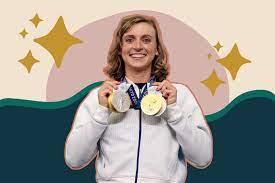 Gold-Medal-Winning Swimmer ...