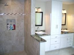 white bathroom cabinets with granite. Bathroom With White Cabinets Granite Tops Vessel Bowls