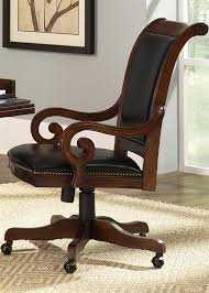 jr executive upholstered office chair in deep cherry finish by upholstered office chairs australia