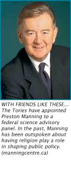 Tories appoint Preston Manning to science council | Xtra Magazine