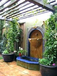 outdoor wall fountains wall mounted garden fountain amazing exterior wall fountains wall fountains elegant ideas how outdoor wall fountains