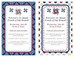 fourth of july invitations 4 party invitation wording template fourth of july invitations