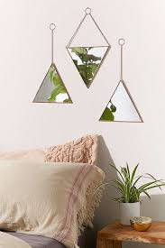 mirror urban outfitters. slide view: 1: triangle mirror set urban outfitters u