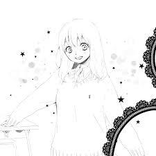 白黒原稿でかわいい女の子を描くコツ 絵師ノート
