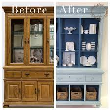 Check out this gorgeous china cabinet by Amy Howard! Her line of chalk  paint can be purchase from Ace Hardware. Can't wait to try on a hutch  exactly like ...