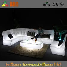 china led lounge bar sofa furniture