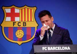 ميسي باكيا: لم أتصور إطلاقا الرحيل عن برشلونة