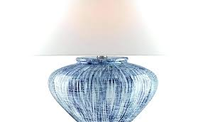 gingham lamp shades blue and white shade