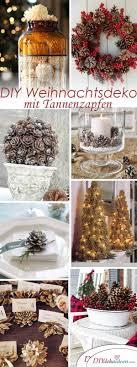 Wunderschöne Diy Weihnachtsdeko Bastelideen Mit Tannenzapfen