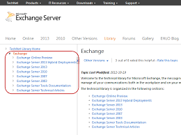 Exchange Server Technet Library Urls Updated You Had Me At Ehlo