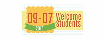 Welcome Students Back To School Vinyl Banner Parallel