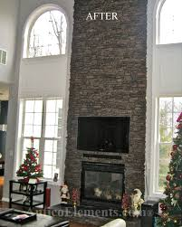 fake rock wall panels for stone fireplace