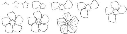 Small Picture How To Draw A Flower Easy Step By Step Image Gallery HCPR