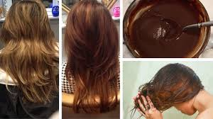 How To Color Hair Brown Naturally At Home