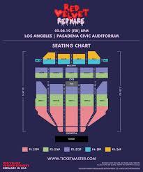 Civic Auditorium Seating Chart