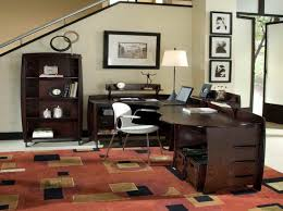 Office:Modern Home Office Furniture House Home Office Color Ideas With  Hardwood Material