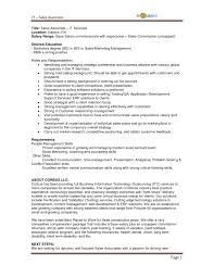 Retail Sales Associate Job Description For Resume Prepossessing