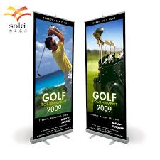 Pull Up Display Stands Cool 32x32cm Durable Portable Aluminum Retractable Pull Up Roll Up