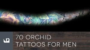 тату орхидея 41 фото татуировки эскизы значение мужских и женских