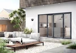 sliding doors. Image Is Loading Sliding-Patio-Doors-Aluminium-Inc-Glass-2-Panel- Sliding Doors