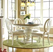 dining sets round country chic maple wood white round extendable dining table dining chairs ikea ireland