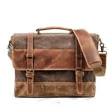 luxury mens briefcase bag shoulder cross bags canvas leather messenger bag patchwork handbag school tote handbags designer handbags from kuabao