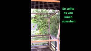 Einbauvideo Katzenbalkon Youtube