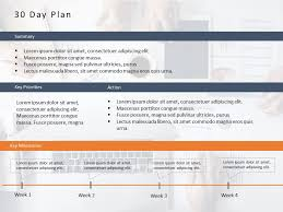 30 Day Chart Template 30 60 90 Day Plan Powerpoint Template 6 30 60 90 Day Plan