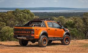 Truck chevy concept truck : chevy-colorado-extreme-concept-rear - The Fast Lane Truck