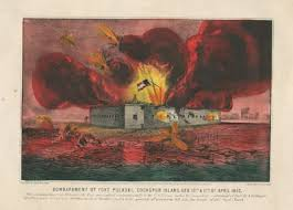 「battle of fort sumter 1861」の画像検索結果