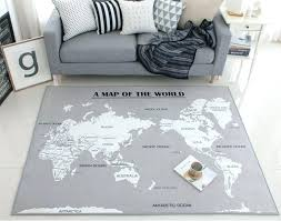 kids world map rug incredible fun rugs fun time world map classroom area rug reviews throughout