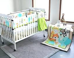 jungle nursery bedding jungle nursery bedding year baby bedding set elephants monkeys tigers baby crib bedding