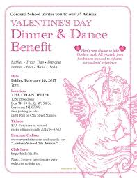 cordero school 7th annual valentines day s dinner and benefit
