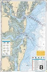 Jacksonville To Hilton Head Chart Kit Inshore Fishing