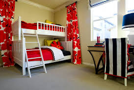 bedroomappealing geometric furniture bright yellow bedroom ideas. this bedroom would appeal to boys or girls who like the graphic and colorful combination of red white black bunk beds are a great choice now bedroomappealing geometric furniture bright yellow ideas