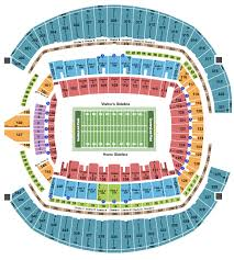 Centurylink Field Seating Chart Seattle