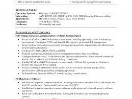 Help Desk Administrator Resume System Administrator Resume