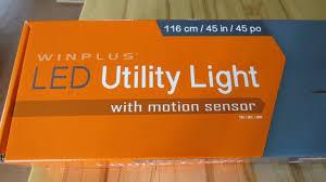 Motion Sensing Programable Led Shop Light From Costco Led