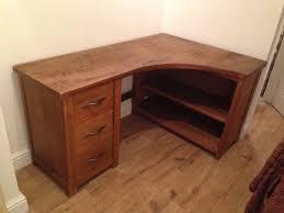 next hartford range solid pine self assembly corner desk